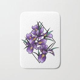 Oregon iris Bath Mat