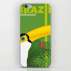 Brazil [rainforest] iPhone Skin