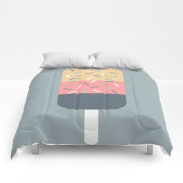 Popsicle (Blue) Comforters