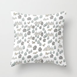 Pattern Zorros Throw Pillow