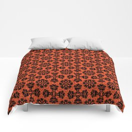 Flame Floral Comforters