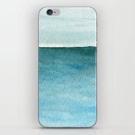 Calm sea 1985 iPhone Skin