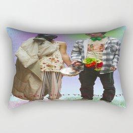 WHAT THE FUCK Rectangular Pillow