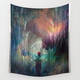 red dragon Wall Tapestry