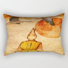 wild goose and Victor Rectangular Pillow