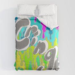 Cringe - Bubblegum 90's Illustration Comforters