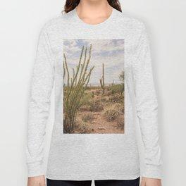 Down Desert Roads, V Long Sleeve T-shirt
