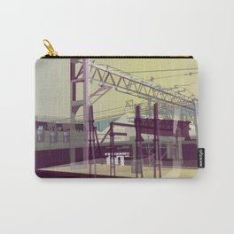 East London Trainlines 3 Carry-All Pouch