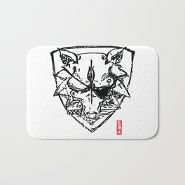 Wolf Shield - Crest Bath Mat