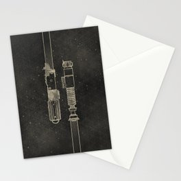 LightSabers Stationery Cards