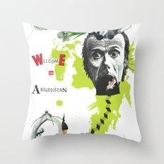 welcome to absurdistan/ no. 103/365 Throw Pillow
