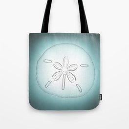 Sand Dollar Blessings - Pointilist Art Tote Bag