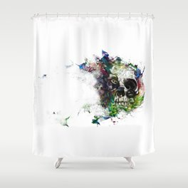 blow Shower Curtain