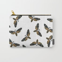 Butter Moth Carry-All Pouch