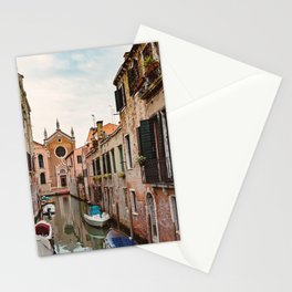 Venice Italy Canal #1 Stationery Cards