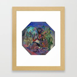 Lady Extinction Framed Art Print