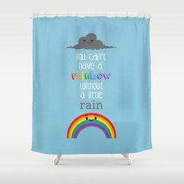 A Little Rain Shower Curtain