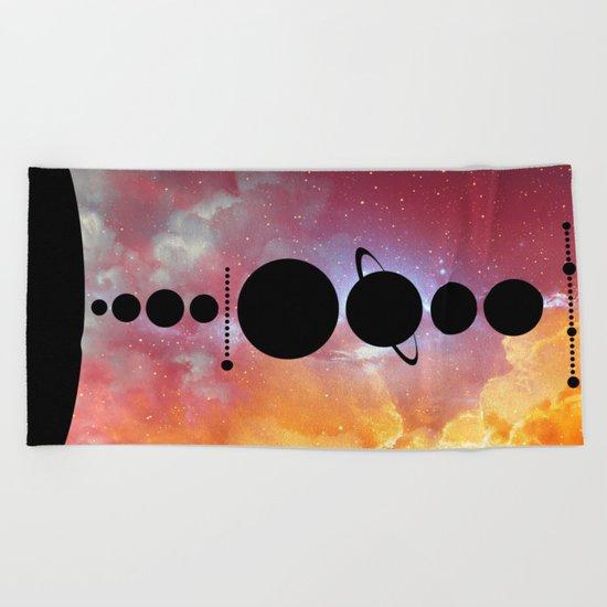 Solar System vol 1 Beach Towel