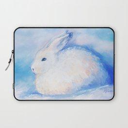 Snow Rabbit Laptop Sleeve