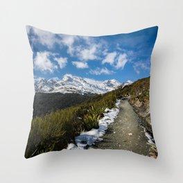 Routeburn Track Throw Pillow