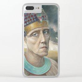 Walken Like An Egyptian Clear iPhone Case