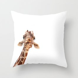 here's looking at you, kid Throw Pillow