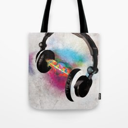 feeling sound Tote Bag