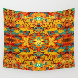 Abstract Fur Kaleidoscope Wall Tapestry