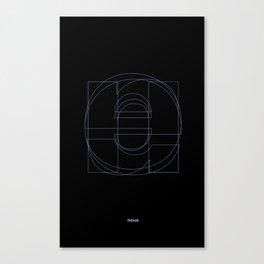 Die Neue Haas Grotesk (B-01) Canvas Print