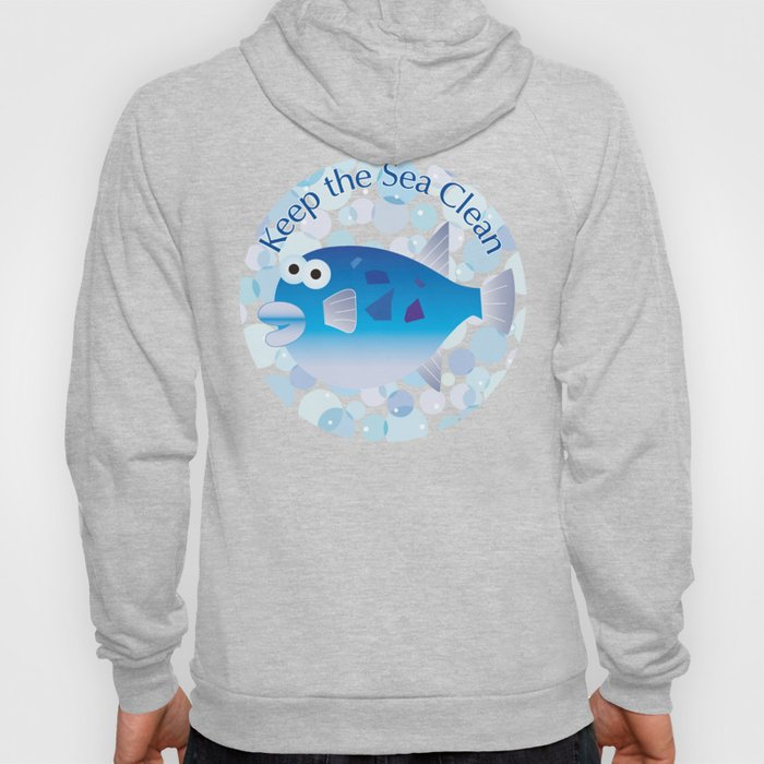 Keep the Sea Clean_Globefish Hoody