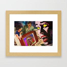 Zoinks Framed Art Print