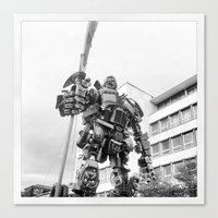 transformer Canvas Prints featuring Transformer by _melosophy