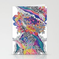 psych Stationery Cards featuring Psych by Sushibird