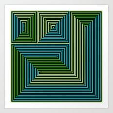 concentric 07 Art Print