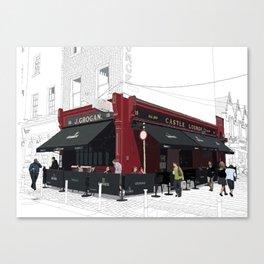 Grogan's Canvas Print