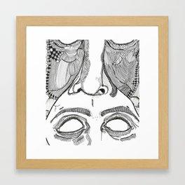 tooface Framed Art Print
