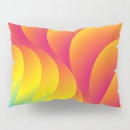 Rainbow swirls Pillow Sham