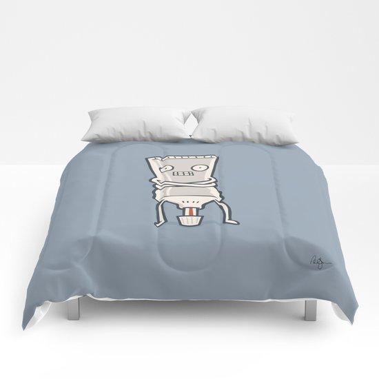 Bad Taste Toothpaste  Comforters
