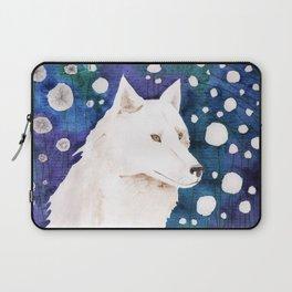 White wolf fairy tale Laptop Sleeve