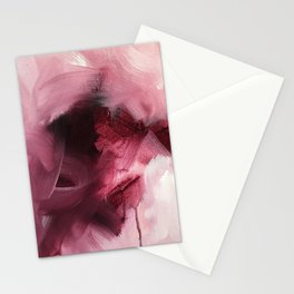 Maroon 1 (Color Study) Stationery Cards
