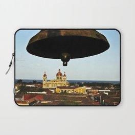 Bell Tower View, Granada, Nicaragua Laptop Sleeve