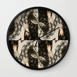 Hand of Mary Medici Wall Clock