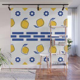 Mediterranean pattern Wall Mural