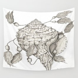 Shell of Faith Wall Tapestry