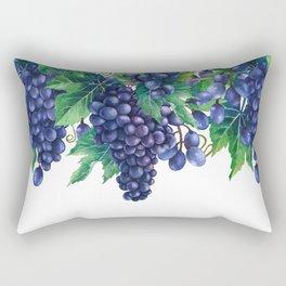 Watrercolor grapes Rectangular Pillow