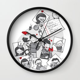 Married with children Wall Clock
