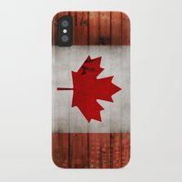 canada iPhone & iPod Cases featuring Canada by Arken25
