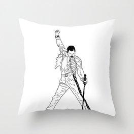 Don't Stop Me Now Throw Pillow
