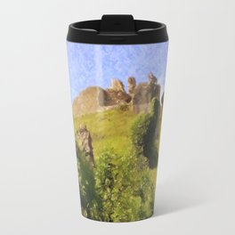 Corfe Castle Travel Mug