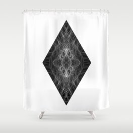 DIAMOND 101 Shower Curtain
